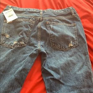 Never worn free people jeans